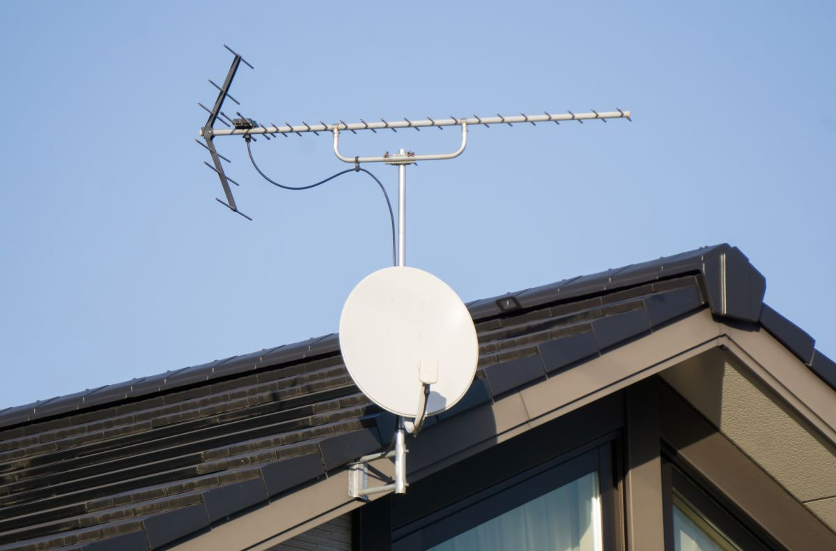 Anteny satelitarne i naziemne w inteligentnym domu