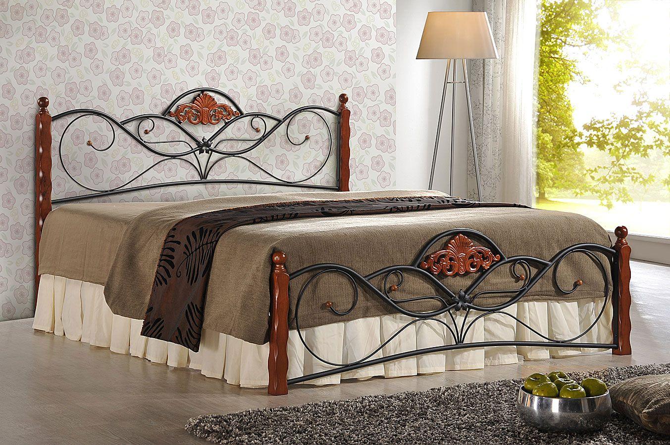 Kultowe i niezawodne łóżka metalowe pojedyncze i podwójne