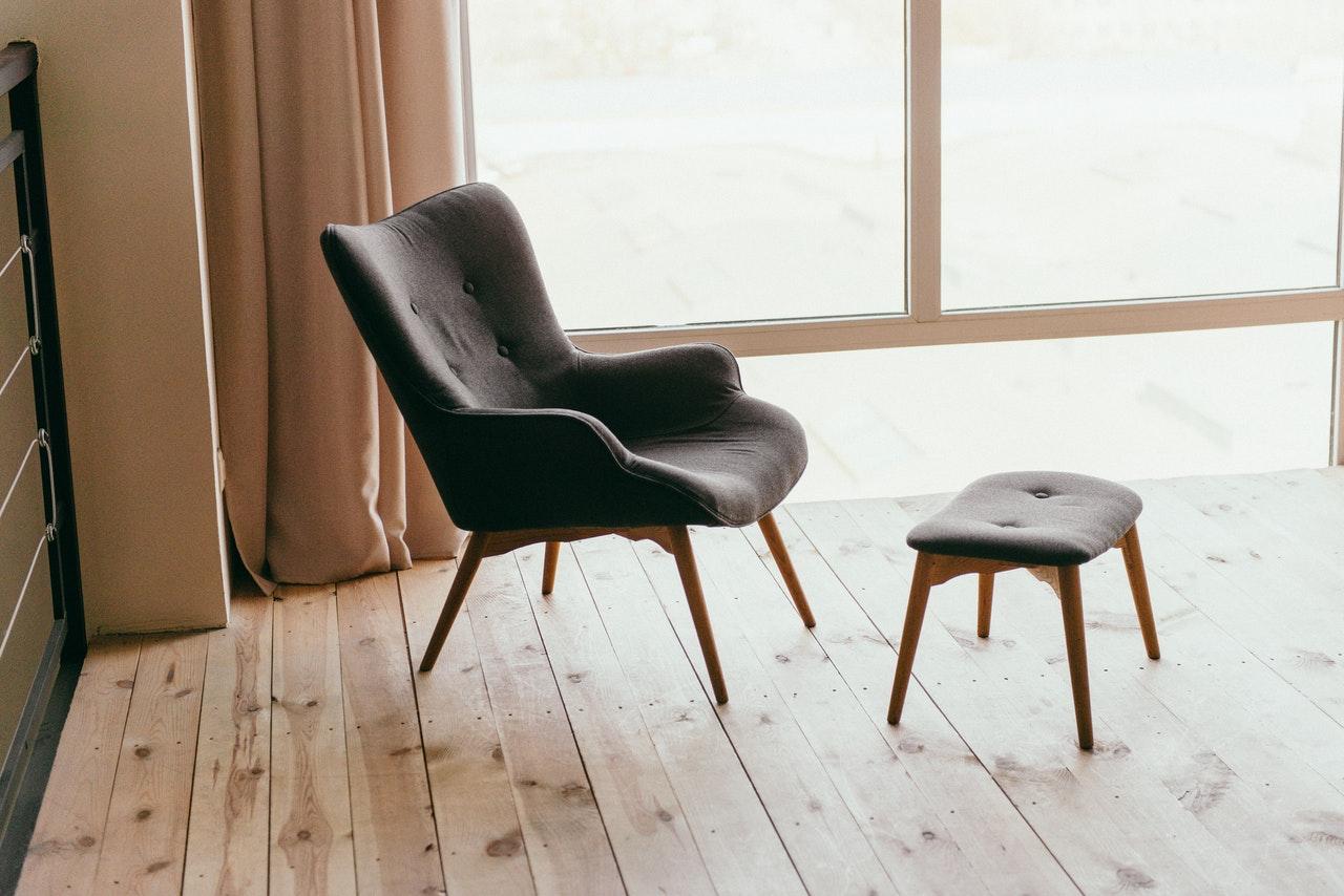 Wygodne fotele z charakterem